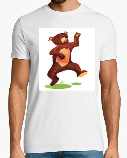 Camiseta oso torpe