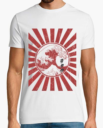 T-shirt otaku bandiera