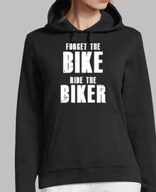 oubliez le vélo montez le motard