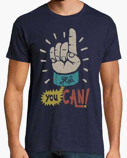 Tee-shirt oui, vous pouvez.