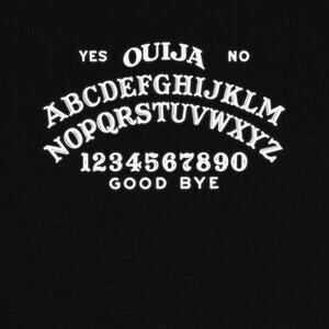 Camisetas Ouija Alfabeto Halloween