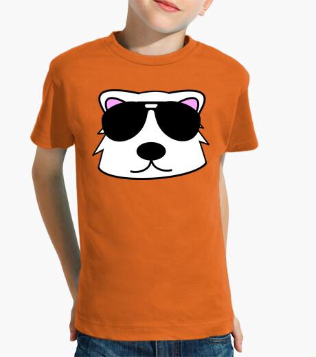 Vêtements enfant ours polaire face doodle