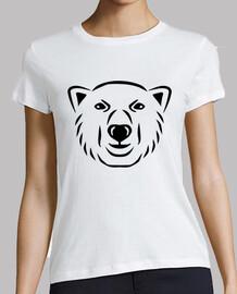 ours polaire tête visage