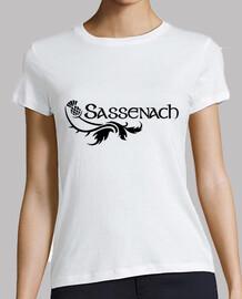 Outlander Sassenach Logo en Negro