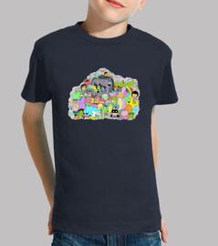 Outside the TV Show Kids T-Shirt