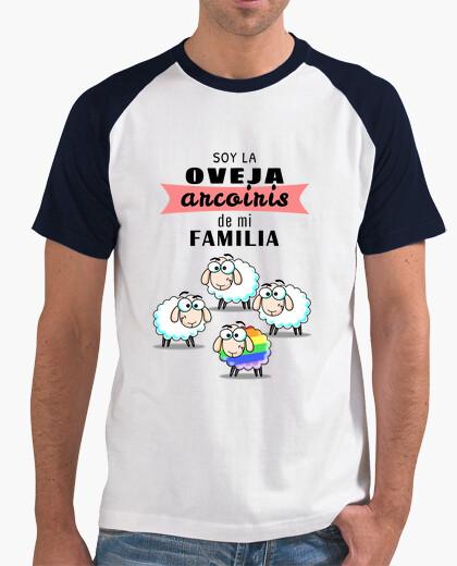 Camiseta Oveja arcoiris