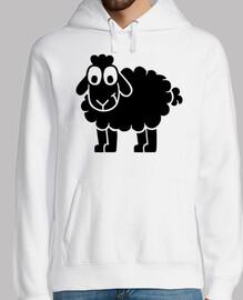 oveja cómica negra