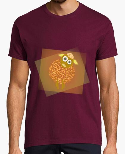 Camiseta Oveja naranja