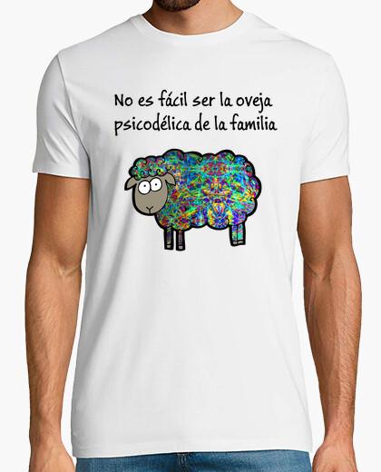 Camiseta Oveja Psicodélica