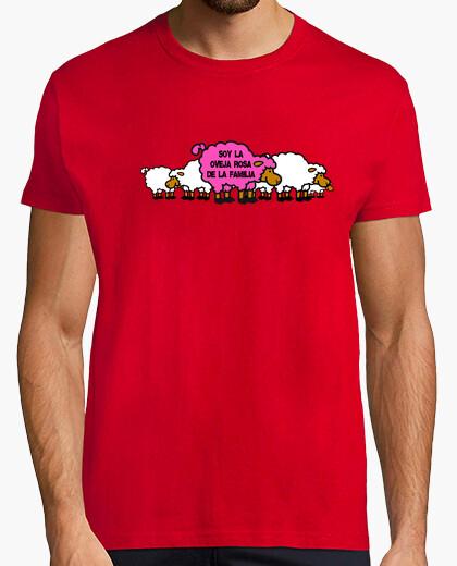 Camiseta Oveja Rosa Rebaño
