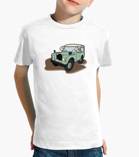 Ropa infantil Ovejas en Land Rover