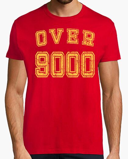 Camiseta Over 9000