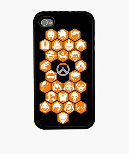 Funda iPhone Overwatch heroes 2017