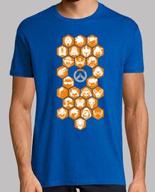 Overwatch heroes 2017 orange