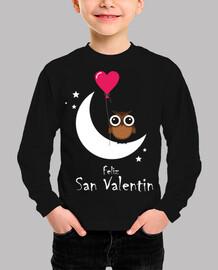 owl moon happy valentines