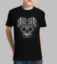 Owl Skull Ornate