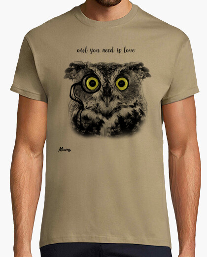 Camiseta OWL YOU NEED IS LOVE