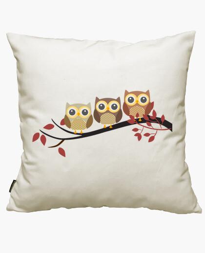 Owls cushion cover