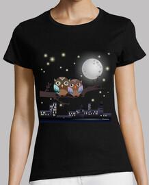 owls in lovers kawaii
