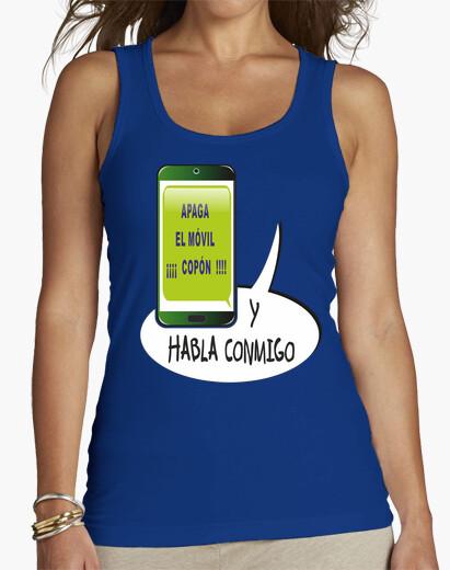 Camiseta ¡oye!,apaga el smartphone, ¡ leches !