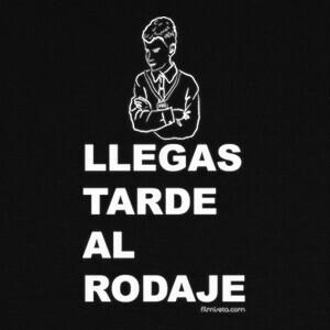 Camisetas P004_LLEGASTARDE_M