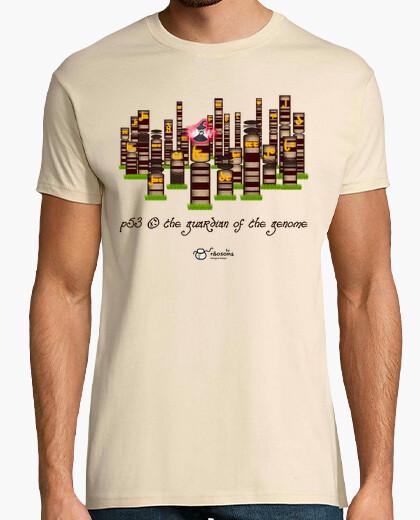 Camiseta p53, the guardian of the genome (fondos claros)