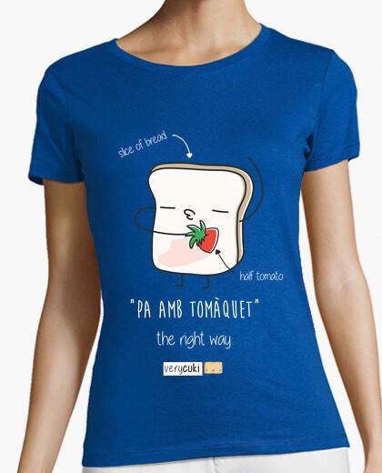 Tee-shirt pa amb tomàquet - dark