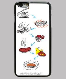pa amb tomàquet - couverture iphone 6 plus
