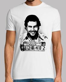 Pablo Escobar (Foto Cárcel de Medellín)
