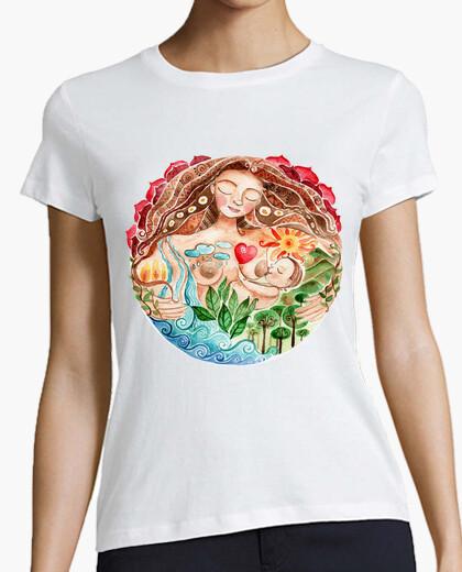 Camiseta Pachamama mujer manga corta