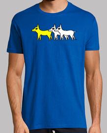pack - yellow dog