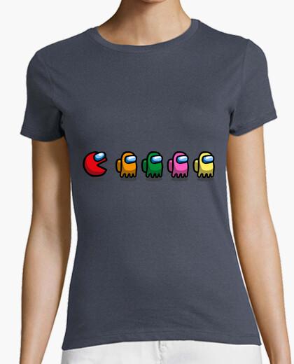 Pacman is among us - camiseta mujer