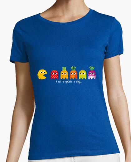 Pacman woman t-shirt