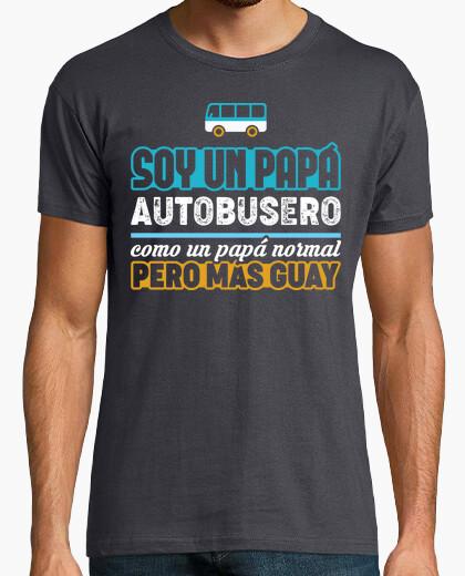 T-shirt padre autobusero
