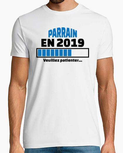 Camiseta padrino en 2019 por favor espere