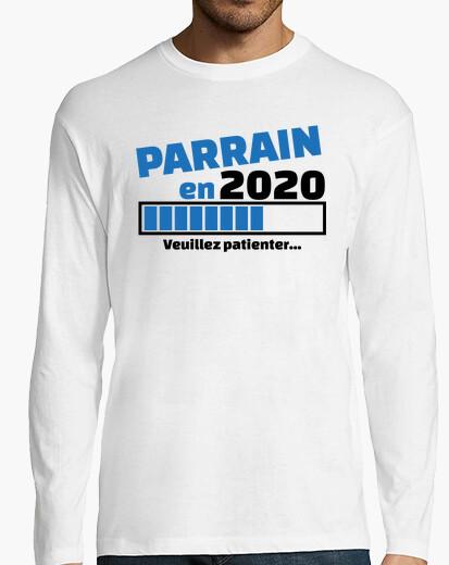 T-shirt Padrino nel 2020 per favore aspetta