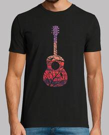 paesaggio di chitarra albero