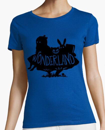 T-shirt paese delle meraviglie