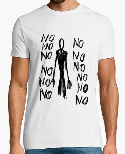 Tee-shirt page mince - non non non