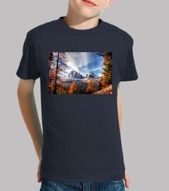 Paisaje de montañas