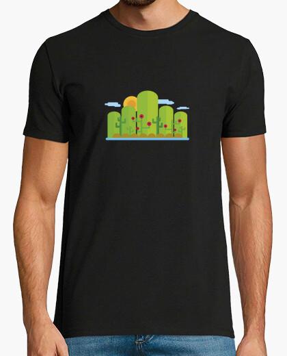 Camiseta paisaje llano