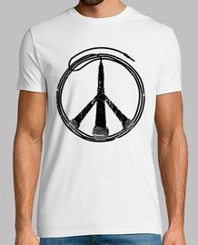 paix et musique (noir)
