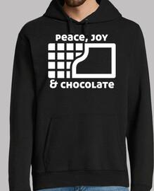 paix joie et chocolat (noir)