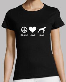 paix love  pointeur allemand