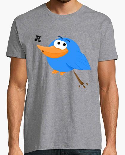Camiseta Pájaro cagando