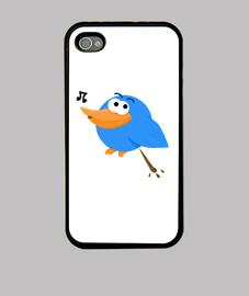 Pájaro cagando