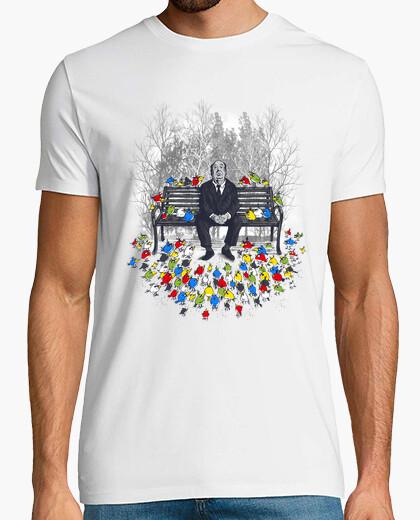 Camiseta pájaros enojados