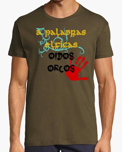 Camiseta palabras elficas chico