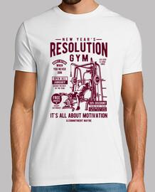 palestra di risoluzione del nuovo anno
