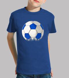 palla blu e bianco per glez